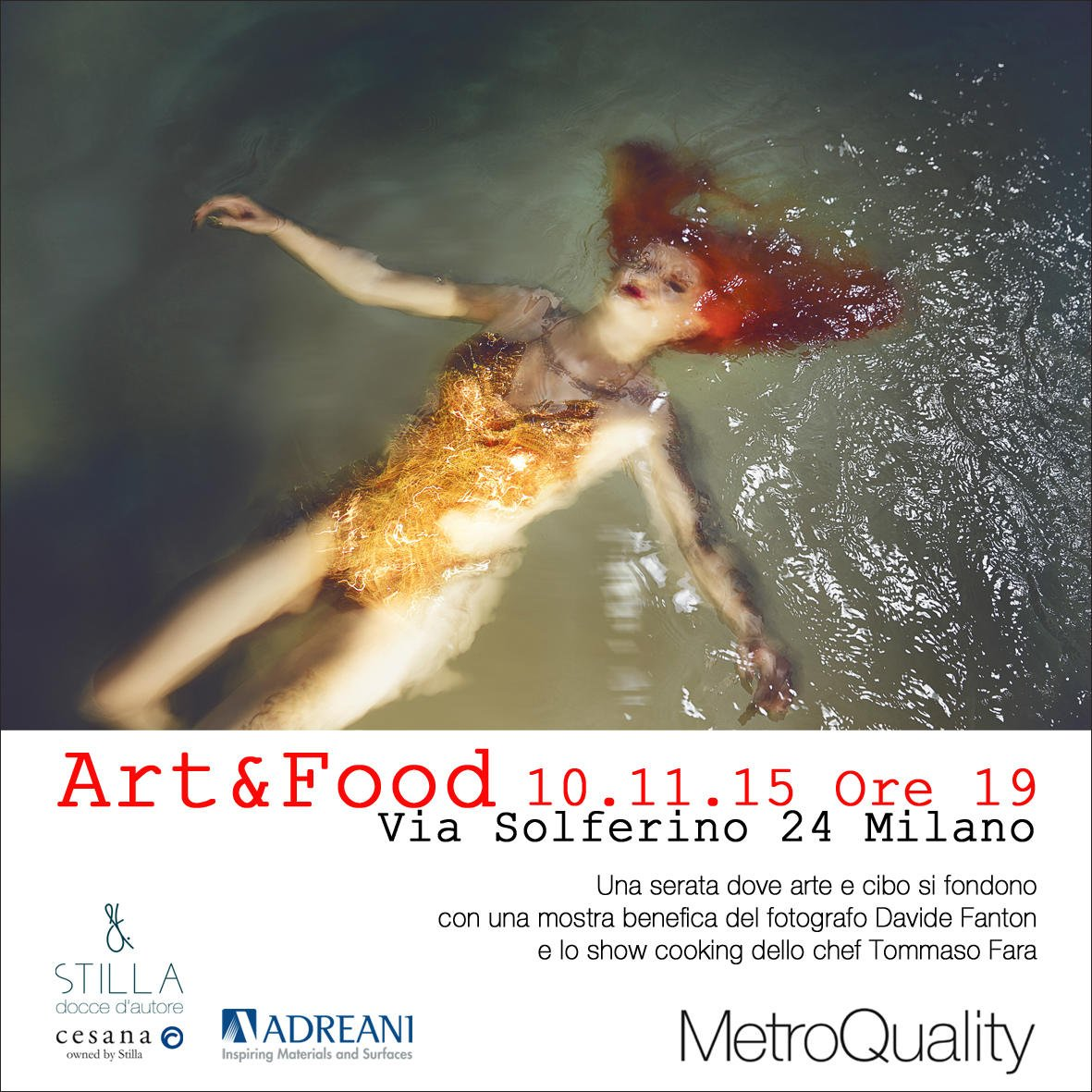 Art&Food x internet