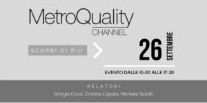 MetroQuality Evento Antidoto Giusto Per Viversi Meglio