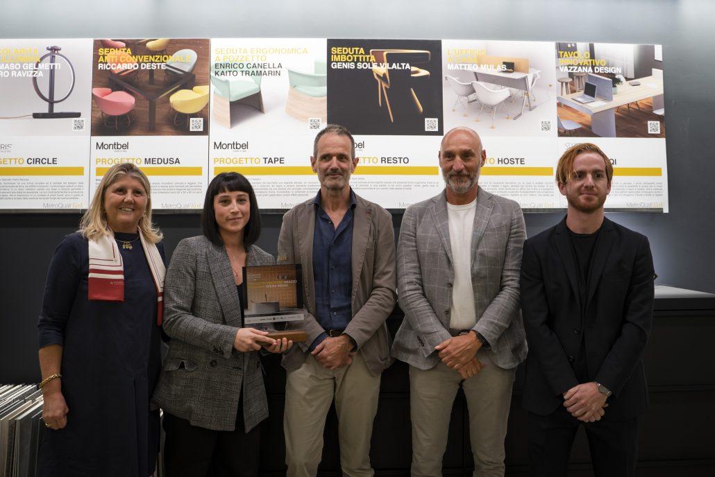 Ylenia Donati e Francesco Tassinari dello studio OPERAVISUAL, vincitori di MetroQualiTASK.